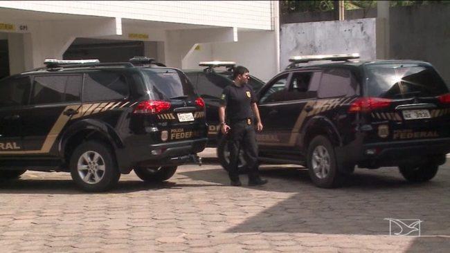 Polícia Federal cumpriu mandados de prisão contra envolvidos em desvio de recursos na saúde no Maranhão na quinta-feira (18)
