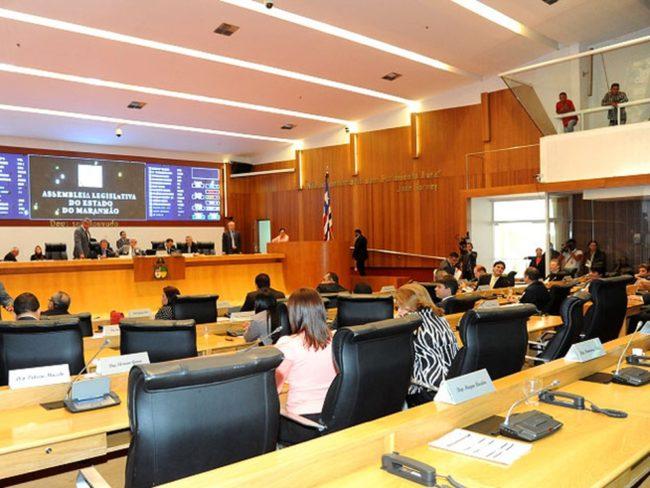 Sessão plenária da Assembleia Legislativa do Maranhão (AL-MA)