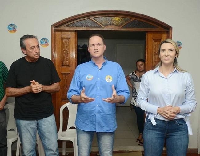 Ricardo Murad, Sousa Neto e Andrea Murad