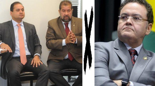 Weverton Rocha e Carlos Lupi são alvos de difamação de Roberto Rocha