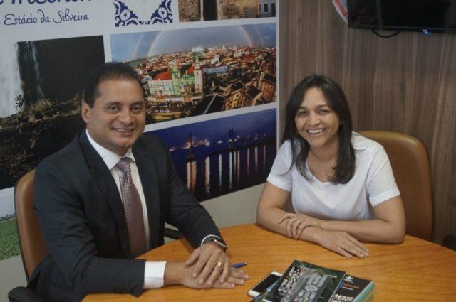 Weverton Rocha e Eliziane Gama