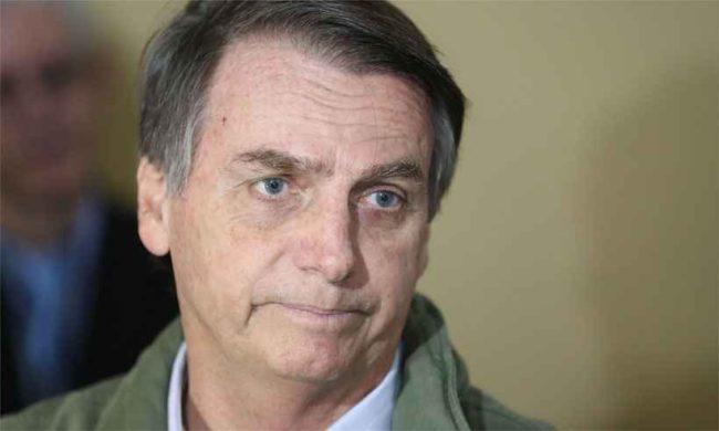 Presidente eleito Bolsonaro