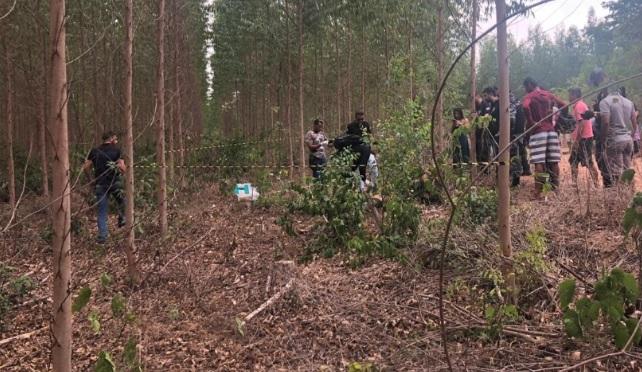 Corpo foi encontrado em região de plantação, perto da fazenda do prefeito