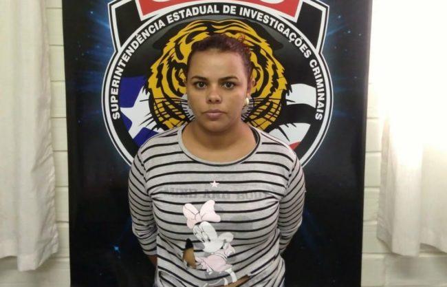 Maria Aparecida Cardoso foi presa no bairro Olho d´água por falso sequestro