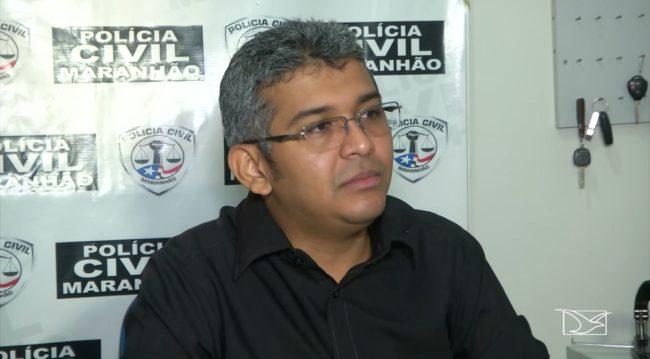Delegado Fagno Vieira, responsável pelas investigações da morte de Antônia Conceição, de 106 anos, em Feira Nova do Maranhão