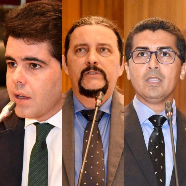 Adriano Sarney, Júnior Verde e Marco Aurélio