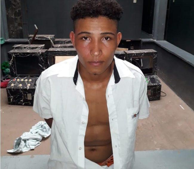 Jhonatan Moura da Silva foi encaminhado para a 4ª Delegacia de Polícia Civil de Codó