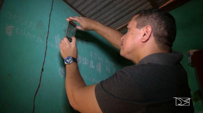 Polícia analisa pegadas na casa de Antônia Conceição para descobrir o autor do assassinato