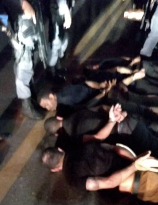 Polícia prende em Santa Luzia do Paruá bandidos envolvidos em assalto em agência bancária em Bacabal