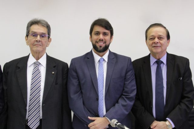 Roberto Jefferson, Pedro Lucas Fernandes e Jovair Arantes