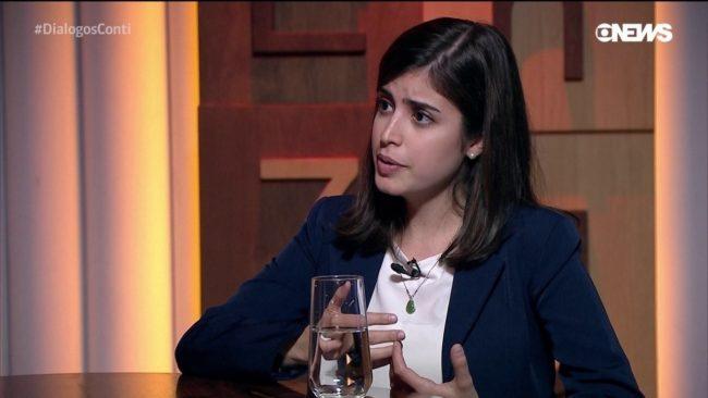 Deputada eleita Tábata Amaral disse que o filho do deputado Hildo Rocha teria se recusado a entregar a chave da residência para ela