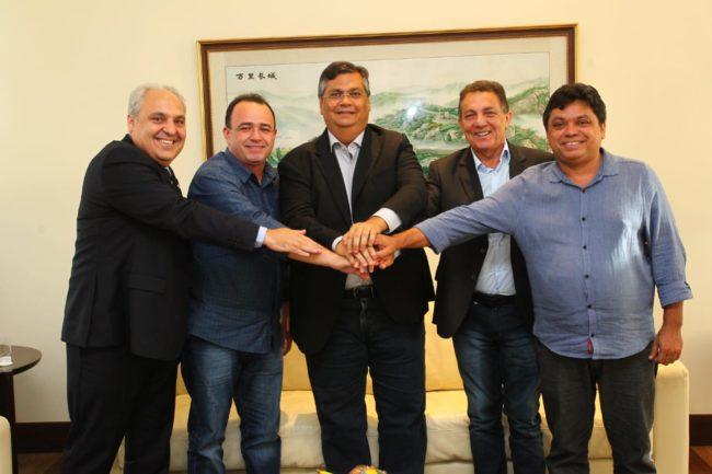 Marcelo Tavares, Erlanio Xavier, Flávio Dino, Tema e Márcio Jerry