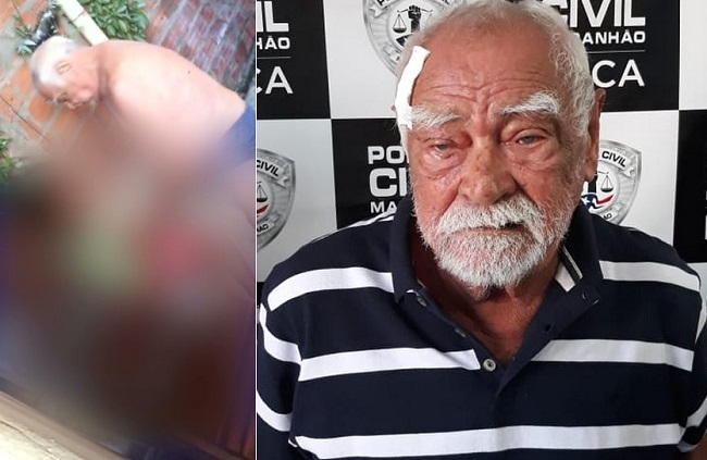 Idoso é flagrado em vídeo abusando de criança e polícia investiga o caso em São Luís