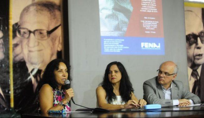 Jornalistas Beth Costa, Maria José Braga e Celso Schröder