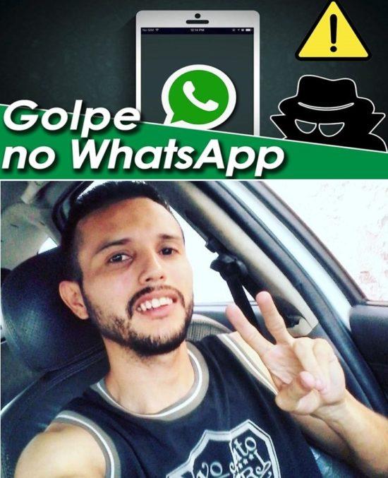 Marcos Aurélio Santos Freitas Filho (vulgo Marcola), um dos envolvidos no esquema do golpe do WhatsApp
