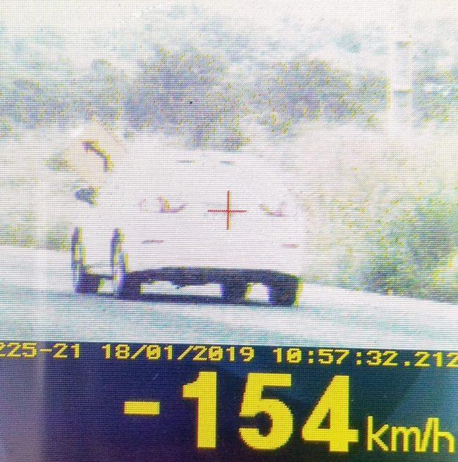 Polícia Rodoviária flagra veículo com quase 200% de excesso de velocidade na BR-010