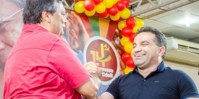 Flávio Dino e Josimar de Maranhãozinho