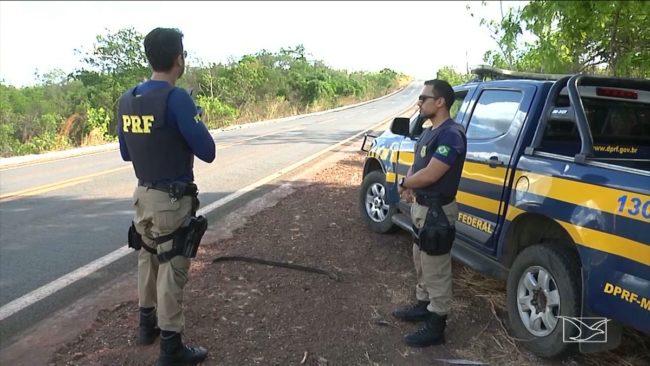 Polícia Rodoviária Federal realiza operação durante carnaval nas rodovias no Maranhão