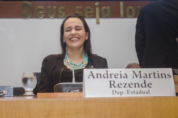 Deputada Andreia Rezende