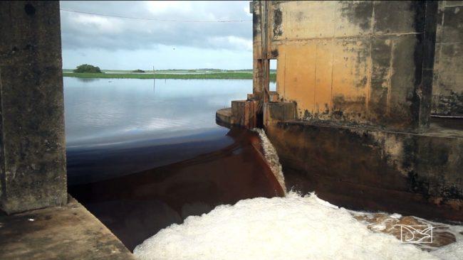 Barragem que foi inaugurada em 1982 está com o funcionamento comprometido