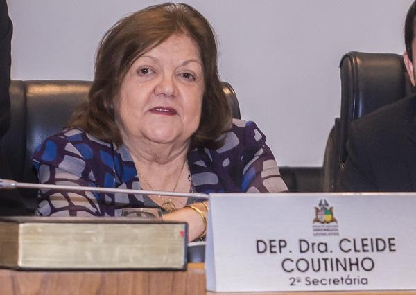 Deputada Cleide Coutinho