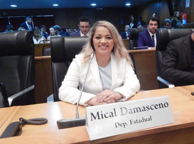 Deputada Mical Damasceno