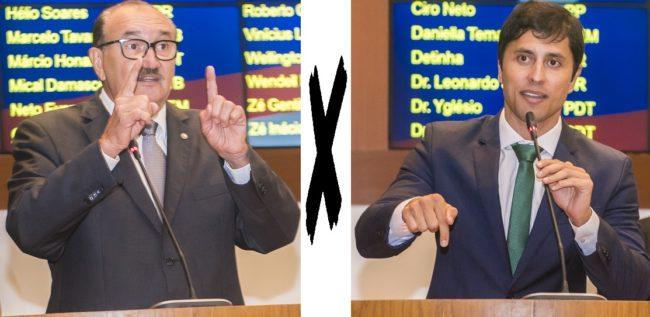 Deputado César Pires e Duarte Júnior travam embate na Assembleia Legislativa