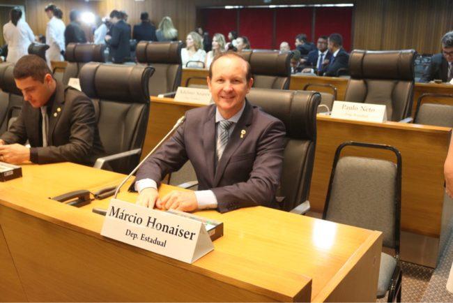 Deputado Márcio Honaiser