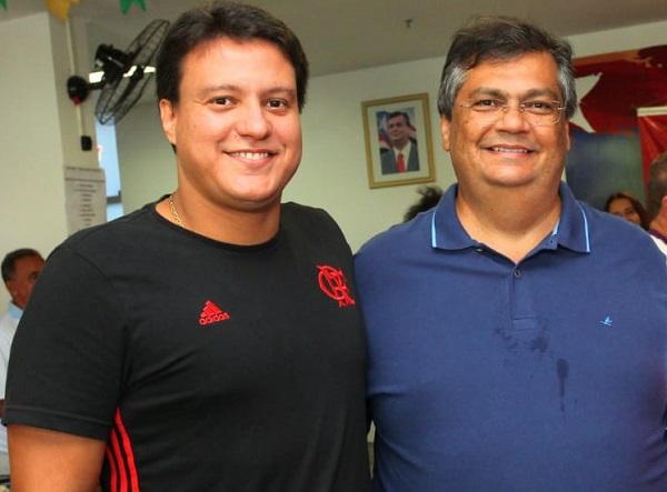 Felipe Camarão e Flávio Dino