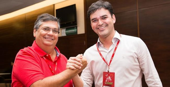 Flávio Dino e Rubens Pereira Júnior