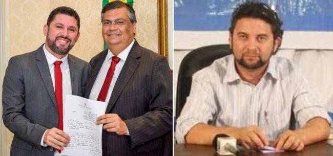 Hernando Macedo, Flávio Dino e o novo secretário Jowberth Frank