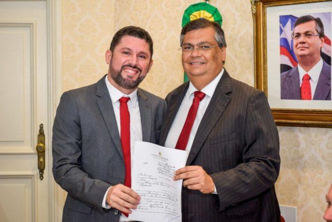 Hernando Macedo e Flávio Dino