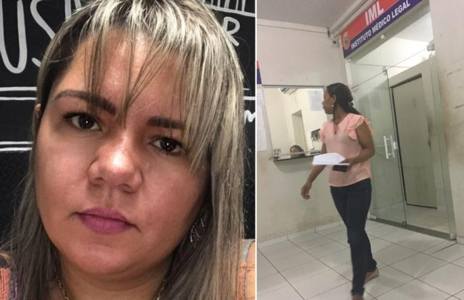 Lorena Lindoso Cantanhede é acusada de agressão por Maria Célia Vale Ferraz, que deixa o IML