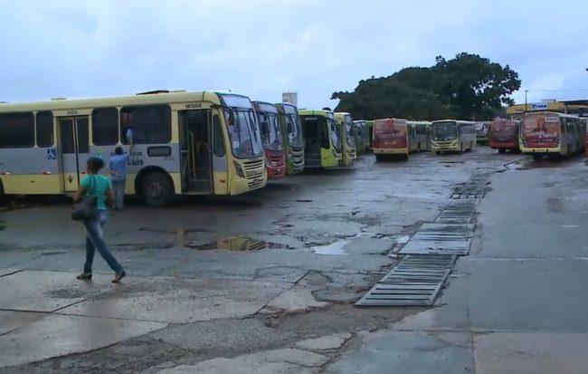 Rodoviários realizam paralisação em São Luís