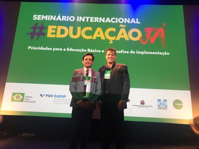 Secretários Magno Melo e Felipe Camarão