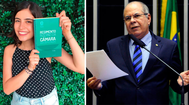 Tabata Amaral e Hildo Rocha