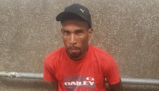 Domingos dos Santos foi amarrado por populares após ele ter sido suspeito de espancar Mariregila Galvão Reis