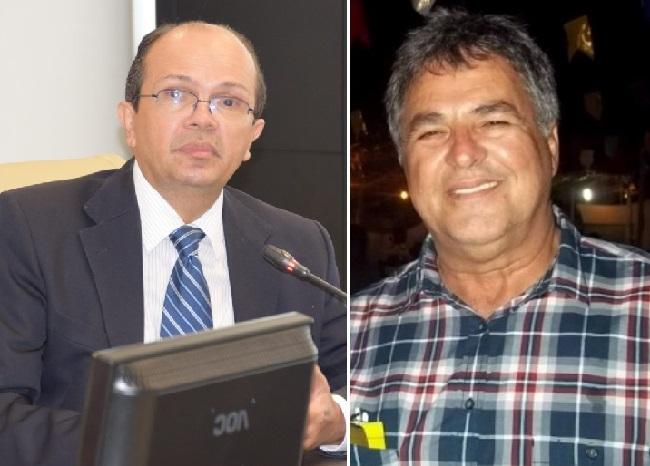 Conselheiro Caldas Furtado e o ex-prefeito José Reis Neto