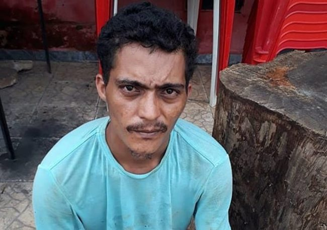 Felipe do Nascimento Araújo foi preso por suspeita de matar um homem por causa de R$ 2 em Açailândia, no ano passado