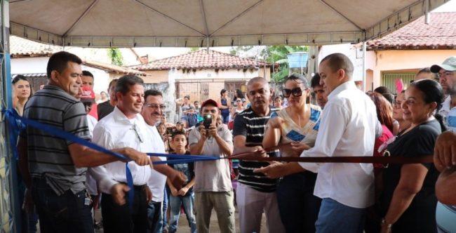 Prefeito e vereadores inauguram nova reforma da Escola Frei Antonio Sinibaldi, na Vila Meireles