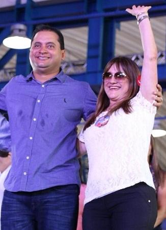 Weverton Rocha e Suely Pereira