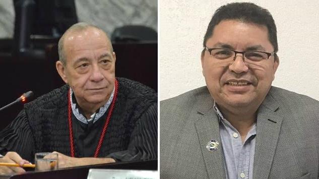Desembargador Guerreiro Júnior e George Luiz Santos