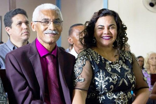 Prefeito e primeira-dama: Domingos e Núbia Dutra