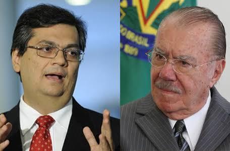Flávio Dino e José Sarney