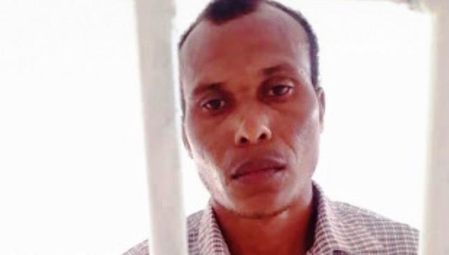 Adeiton Soares Mendes, preso por abusar sexualmente das duas filhas