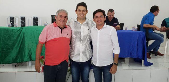 Secretários Fabrício Coelho e Magno Mello