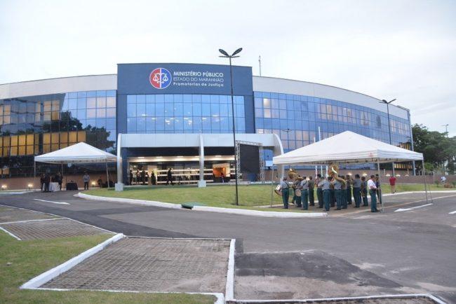 Fachada do Ministério Público do Maranhão