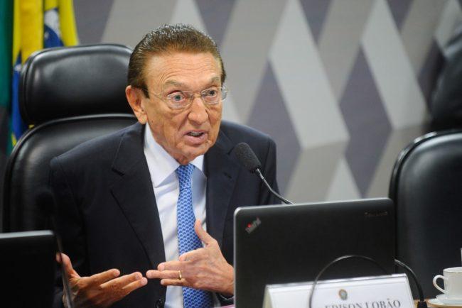 Lobão ocupava o cargo de Ministro de Estado de Minas Energia na época dos fatos
