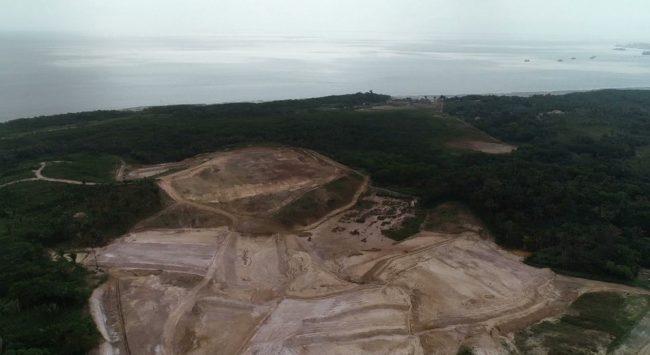 Área onde será instalado porto privado na zona rural de São Luís é alvo de investigação do Ministério Público Federal e Estadual