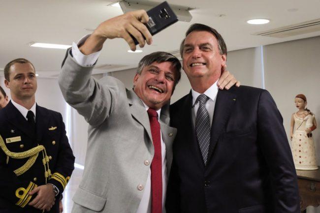 Boca Aberta e o presidente Bolsonaro